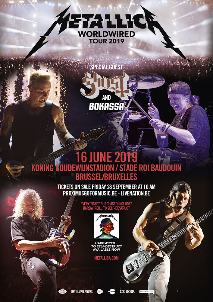 Metallica : WorldWired Tour 2019