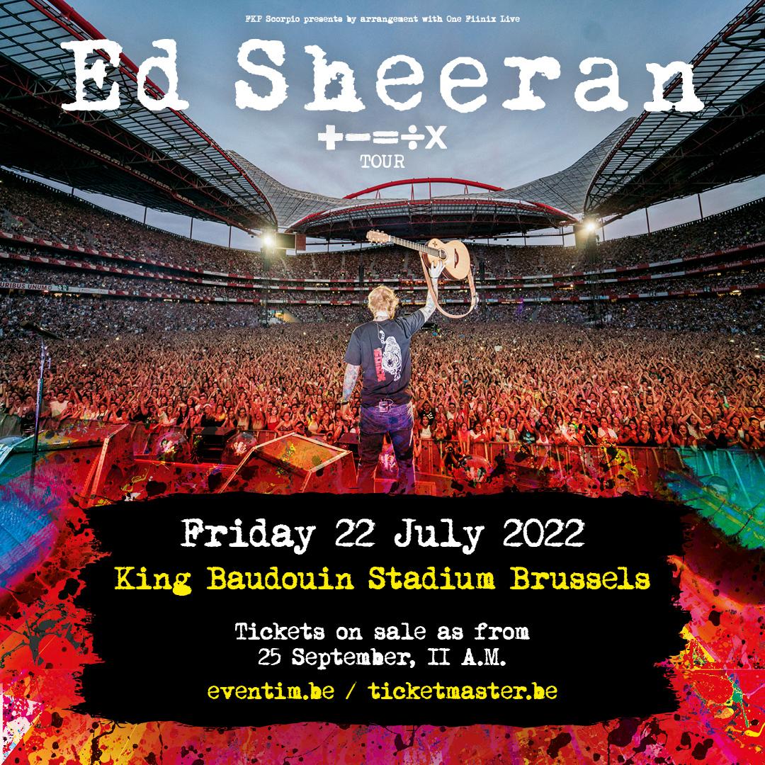 Ed Sheeran 22.07.22