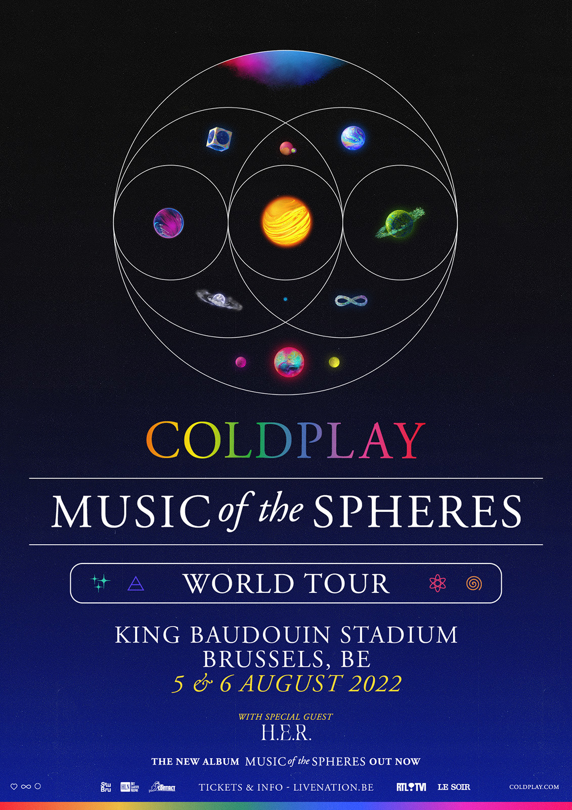 Coldplay – Music of the Spheres World Tour